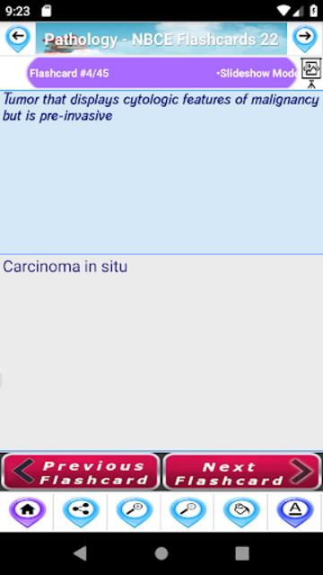 Pathology  Study Notes &  Flashcards for NBCE screenshot 7