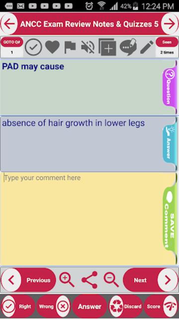 ANCC Exam Prep & Test Bank App: Study Notes & Quiz screenshot 2