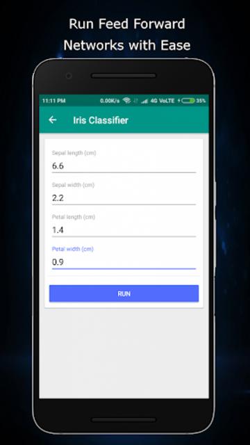 Alphanet : Neural Network Market for Android screenshot 3