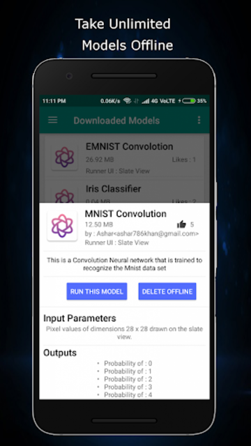 Alphanet : Neural Network Market for Android screenshot 4