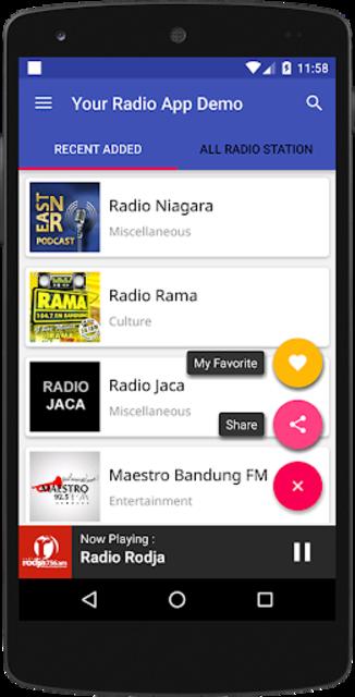Your Radio App Demo screenshot 7