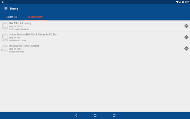 TriMet Go screenshot 11