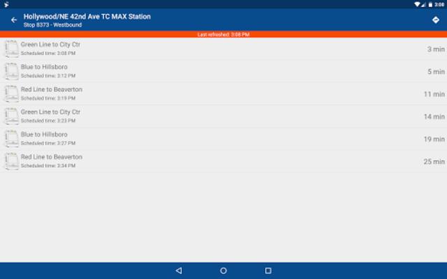 TriMet Go screenshot 14