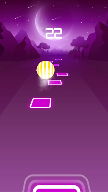 BTS Dancing Hop: BOY WITH LUV KPOP Rush Tiles Game screenshot 4