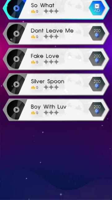 BTS Dancing Hop: BOY WITH LUV KPOP Rush Tiles Game screenshot 8