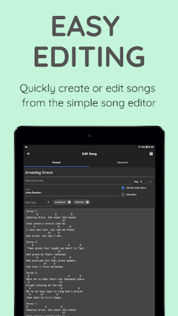 SongbookPro screenshot 3