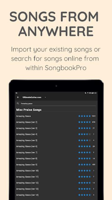 SongbookPro screenshot 4