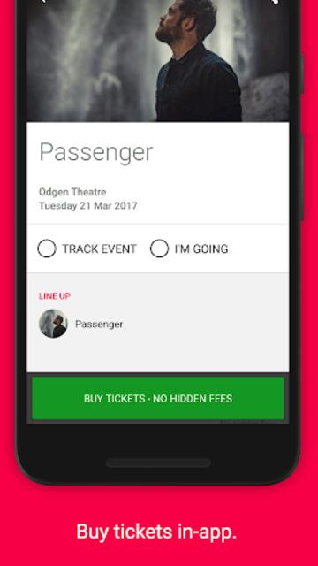 Songkick Concerts screenshot 5