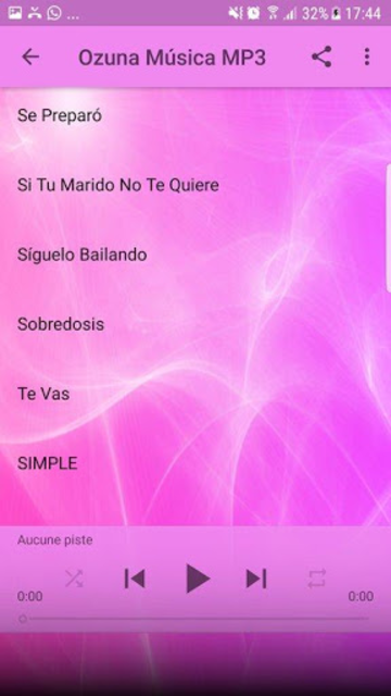 Ozuna de Música Sin internet 2019 screenshot 7