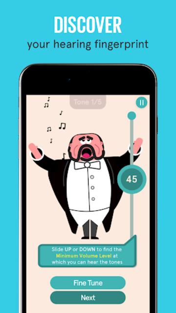 SonicCloud: Hearing App screenshot 1