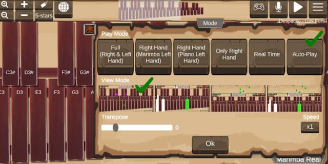 Marimba Real screenshot 2