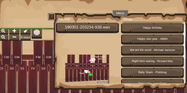 Marimba Real screenshot 3