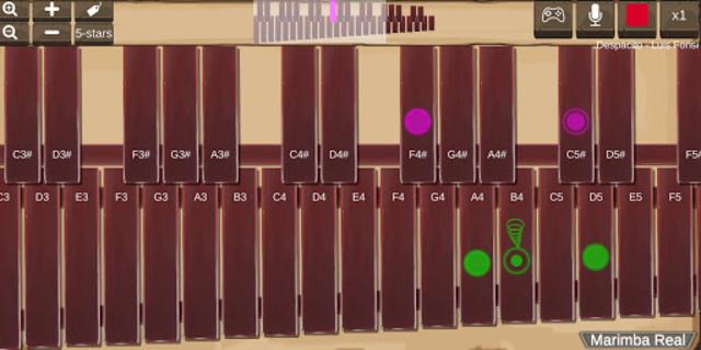 Marimba Real screenshot 4