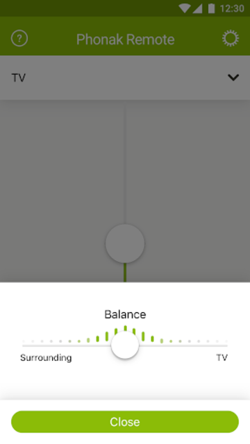 Phonak Remote screenshot 2