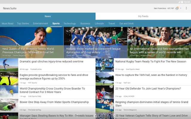 News Suite by Sony screenshot 6