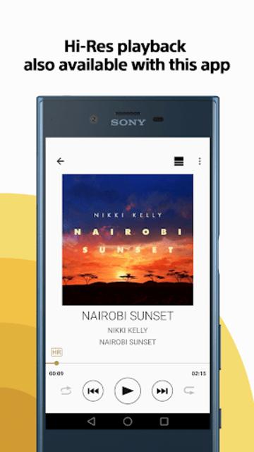 Sony   Music Center (SongPal) screenshot 3