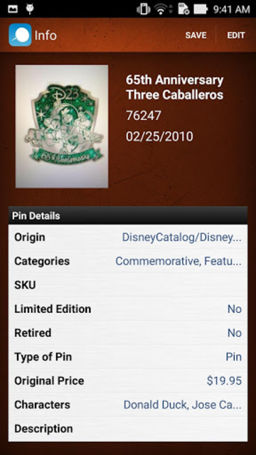 Pin Collector and Manager screenshot 2