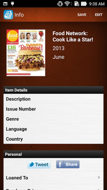 Magazine Collector and Manager screenshot 2