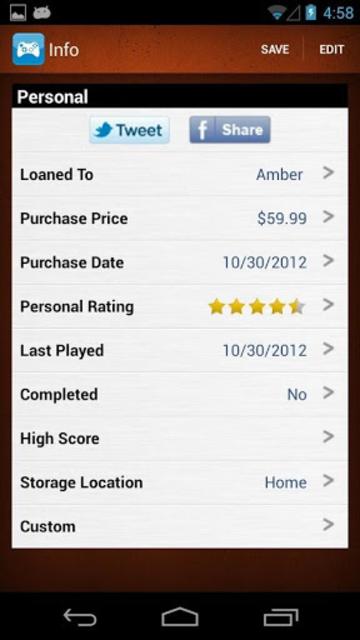 Video Games Database - UPC Game Scanner Collection screenshot 5
