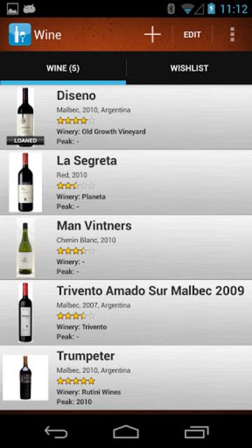 Wine Collectors screenshot 1