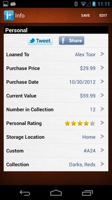 Wine Collectors screenshot 4