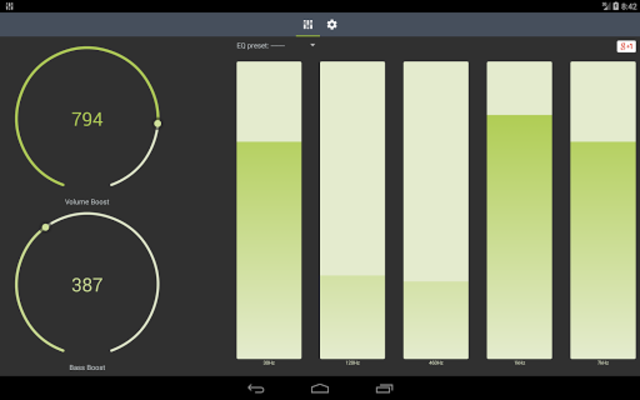 Boosted. Equalizer Pro screenshot 3
