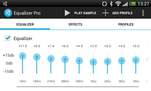 Equalizer Pro screenshot 4