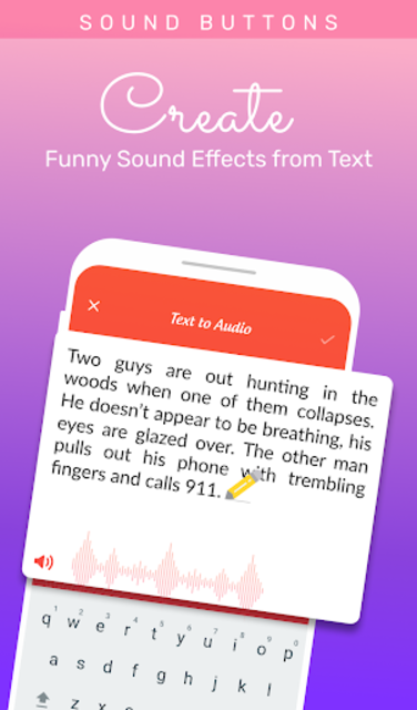 Voice changer: Voice editor - Funny sound effects screenshot 2
