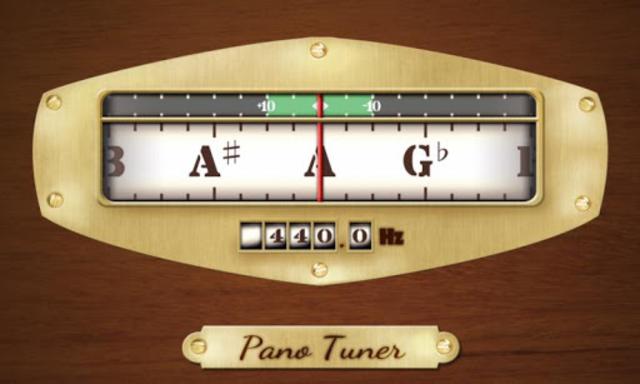 Pano Tuner - Chromatic Tuner screenshot 1