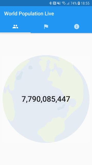 World Population Live screenshot 1