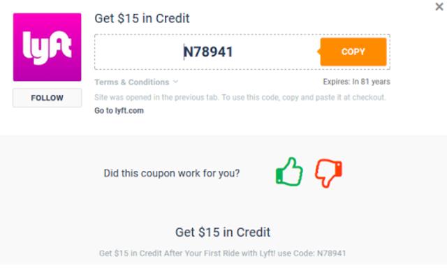 Free Rides - Cab coupons for Lyft screenshot 3