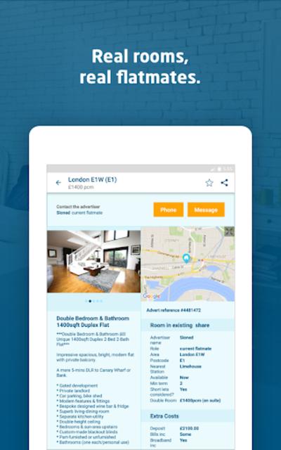 SpareRoom UK — Room & Flatmate Finder screenshot 13