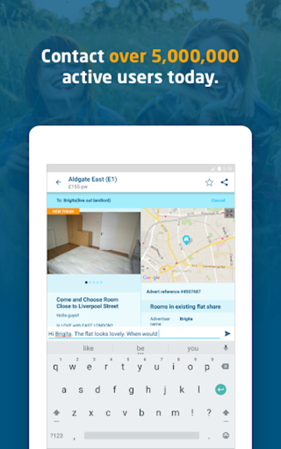 SpareRoom UK — Room & Flatmate Finder screenshot 14