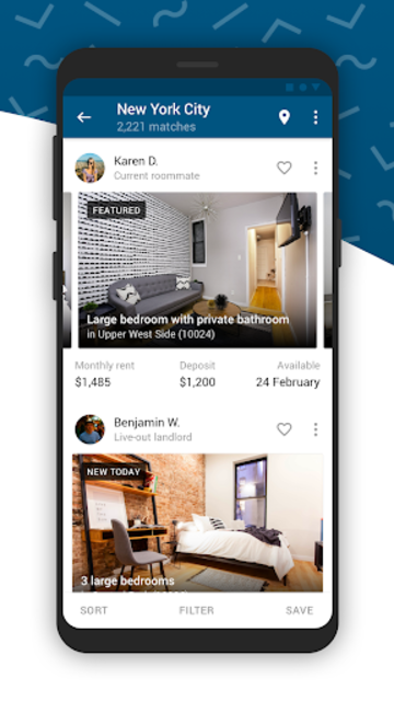 SpareRoom USA — Roommate, Room & Property Finder screenshot 1
