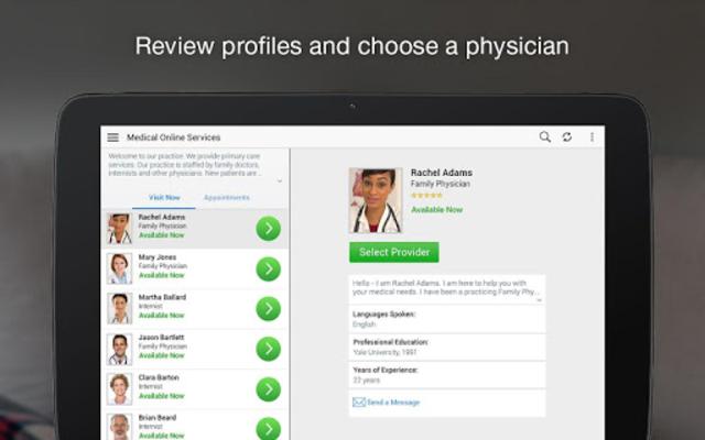 SRHS Virtual Care – Online Physicians 24/7 screenshot 7