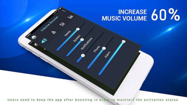 Super loud Volume Booster ; speaker booster pro screenshot 1