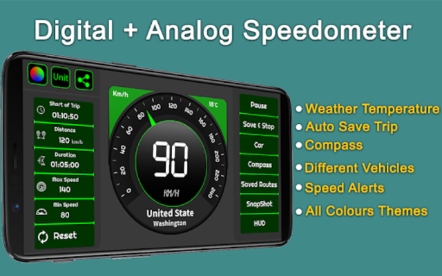 Speedometer & GPS Odometer - Route Planner screenshot 4