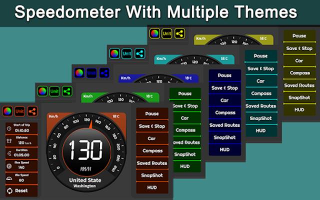 Speedometer & GPS Odometer - Route Planner screenshot 13