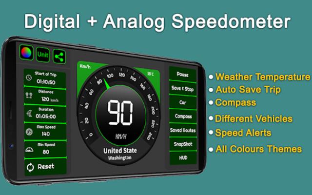 Speedometer & GPS Odometer - Route Planner screenshot 20