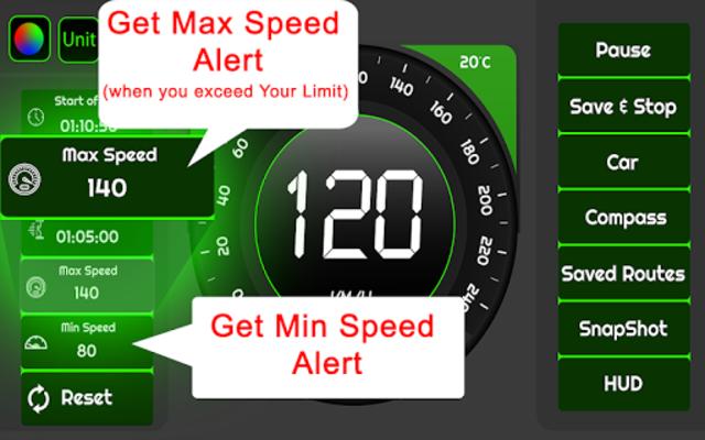 Speedometer & GPS Odometer - Route Planner screenshot 23