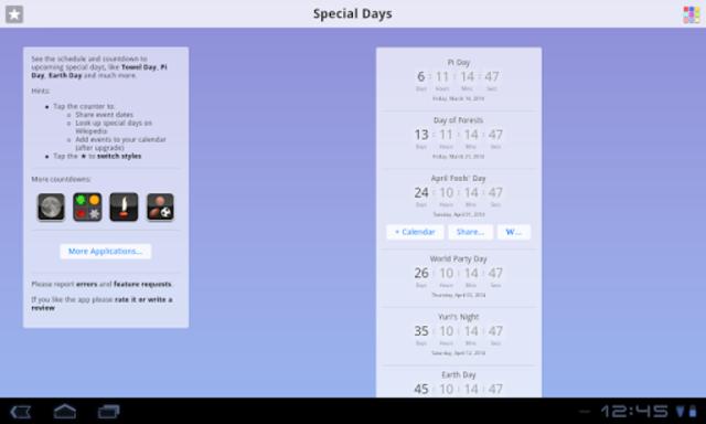 Special Days screenshot 7