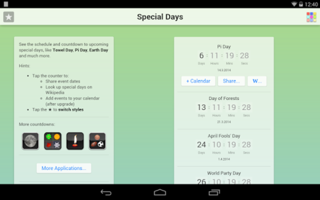 Special Days screenshot 15