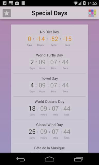Special Days screenshot 1
