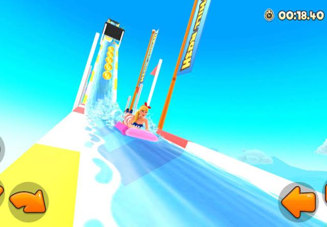 Uphill Rush Water Park Racing screenshot 5