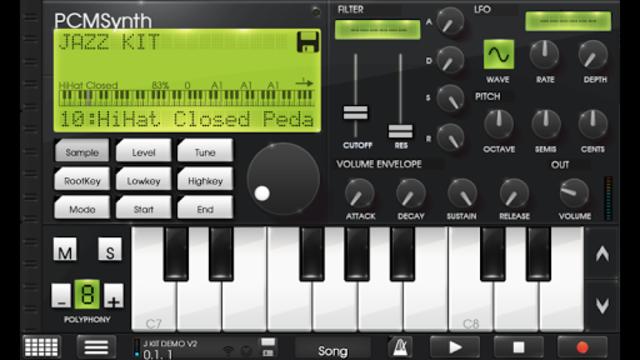 Caustic Jazz Drum Kit Preset screenshot 1