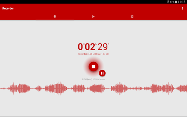 Voice Recorder Pro screenshot 12