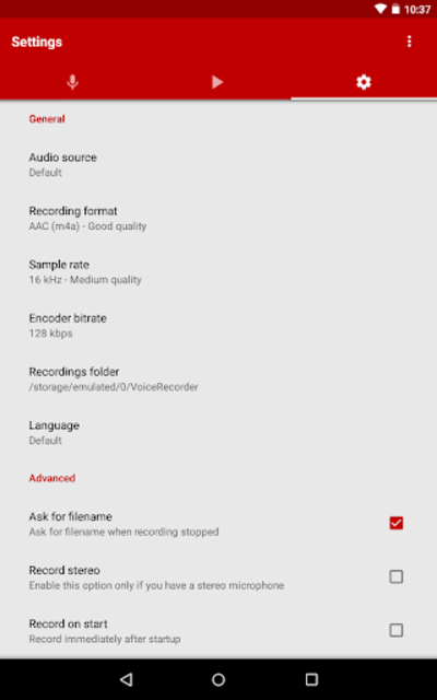 Voice Recorder Pro screenshot 19