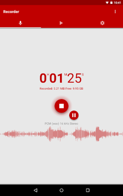Voice Recorder Pro screenshot 20