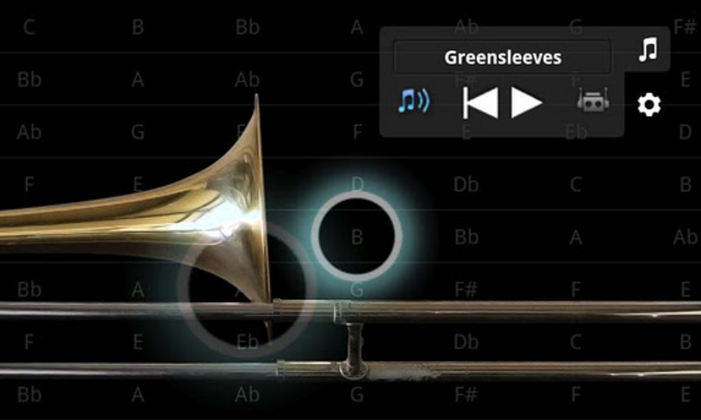 iBone - the Pocket Trombone ™ screenshot 1