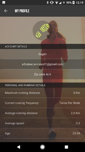 SportMe Marathon Trainer and Run Tracker screenshot 8